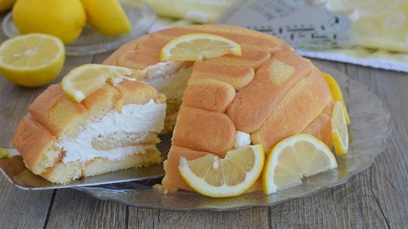 Charlotte aux yaourt et citron sans cuisson