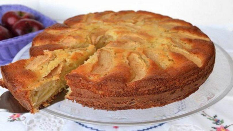La tarte aux pommes légère et facile a préparer