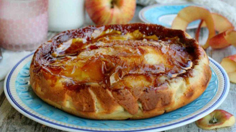 Tarte aux pommes caramélisées douce et authentique