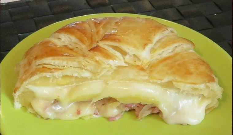 Camembert en croûte façon grand mère
