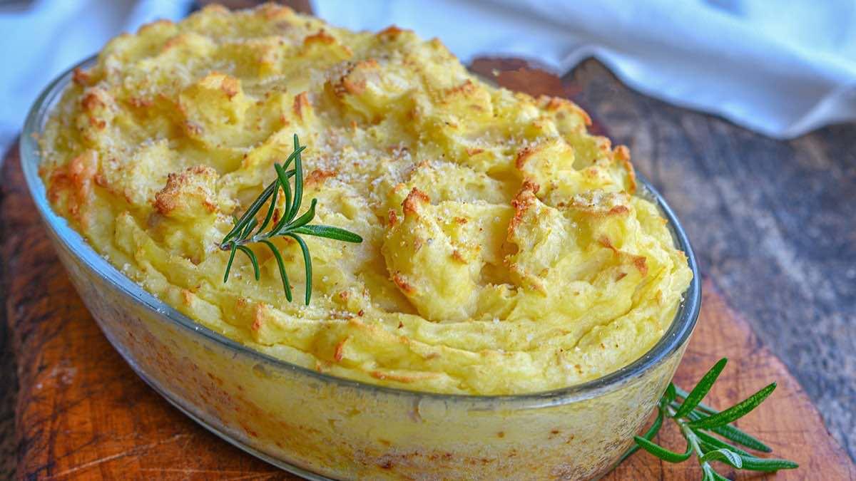 Gâteau de pommes de terre au thon