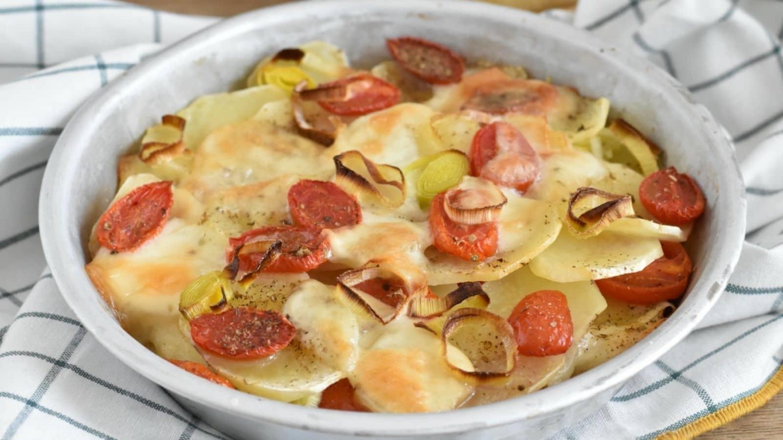 Pommes de terre à la sicilienne
