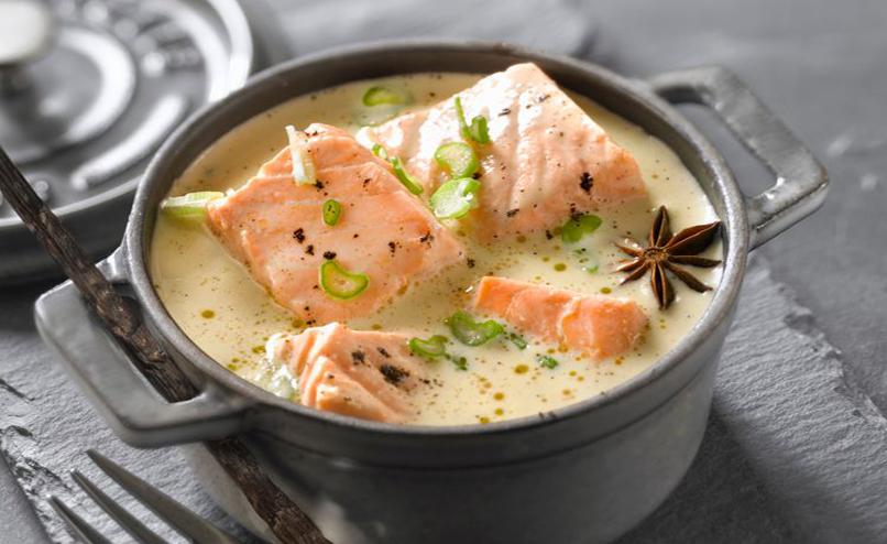 Succulente blanquette de saumon