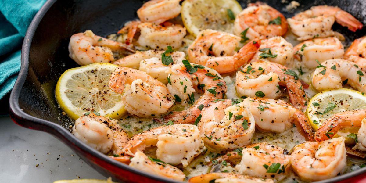 Crevettes à l'ail une recette simple, rapide