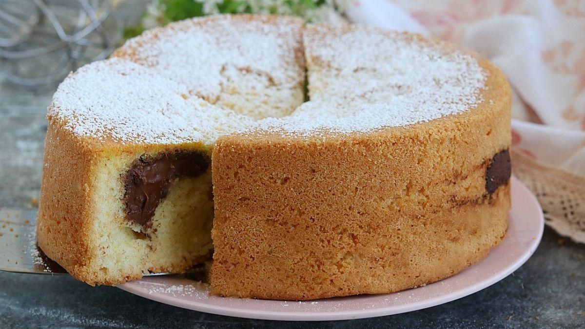 Gâteau au Nutella moelleux facile et rapide à préparer
