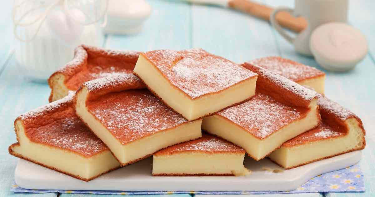 Gâteau magique au yaourt sans farine ni beurre