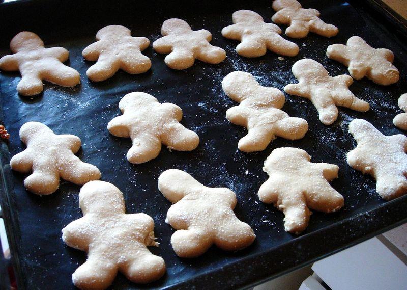 Recette manalas biscuits de noël (spécialités Alsacienne)