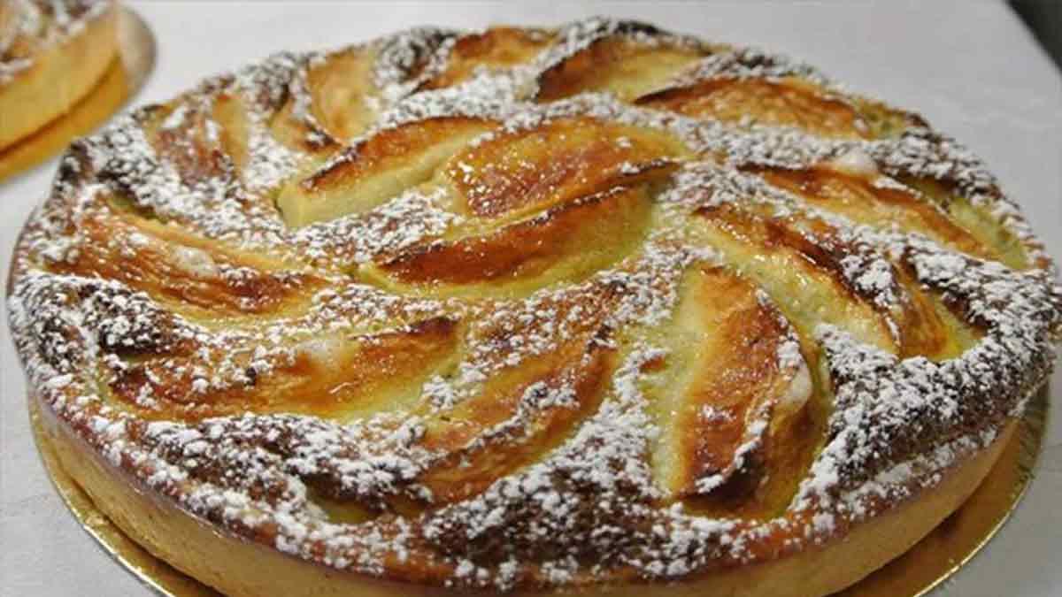 Tarte aux pommes alsaciennes, incomparable