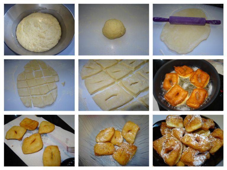 Bugnes craquantes, moelleuses recette facile