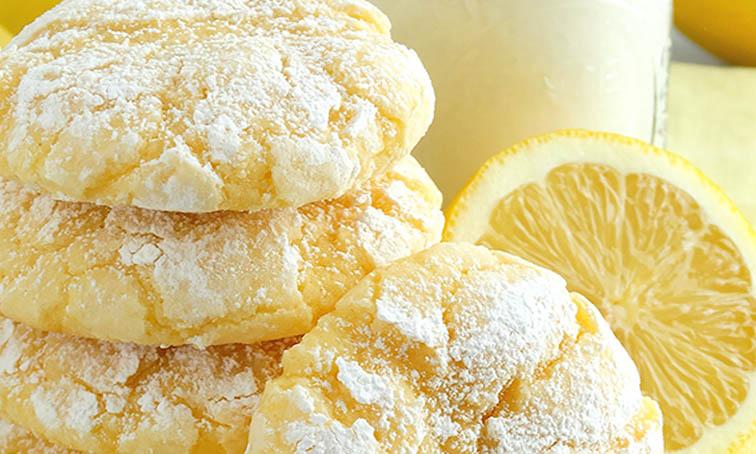 Cookies citron ultra facile en 10 minutes