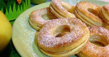 Donuts aux pommes irrésistible, recette facile