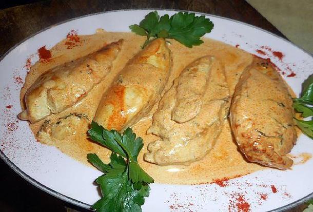 Filets de poulet au paprika facile à faire