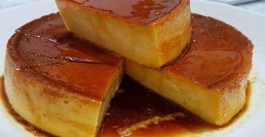 Flan au caramel recette facile, on en raffole tous !