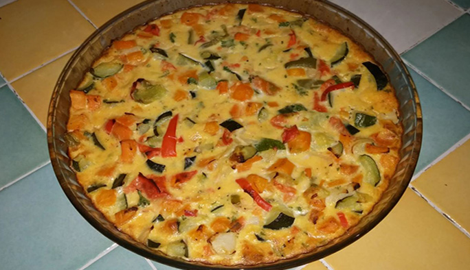 Flan de légumes à la provençale recette facile
