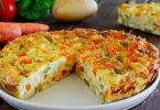 Recette omelette de légumes au four facile