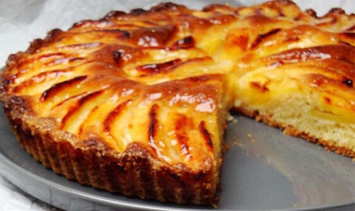 Tarte suisse aux pommes recette facile