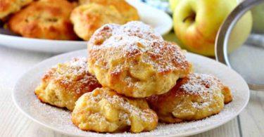 Biscuits aux pommes selon Cyril Lignac