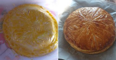 Galette des rois à la frangipane et au citron