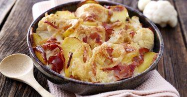 Gratin de chou-fleur et pommes de terre (La chouflette)