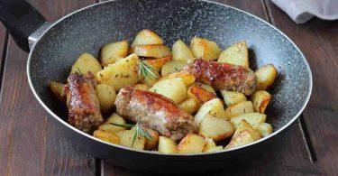 Recette saucisses et pommes de terre à la bière