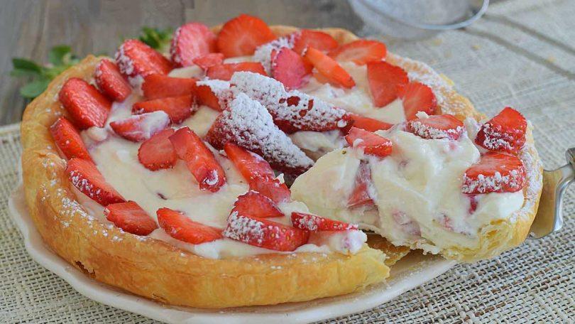 Recette tarte aux fraises et au mascarpone