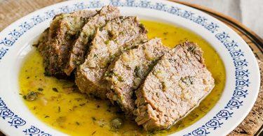 Boeuf à l'huile, recette italienne très facile