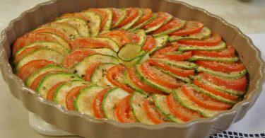 Tian de légumes au four recette facile