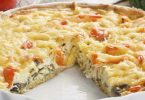 Quiche légère à la mozzarella et ratatouille