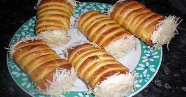 Roulé au fromage et au poulet recette parfaite