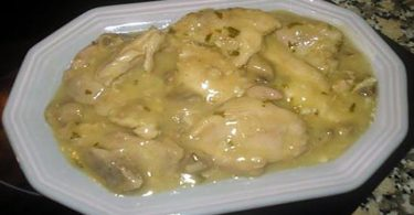 Poulet a l'ail (pollo al ajillo) recette facile